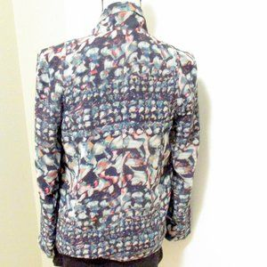 Anthropologie Jackets & Coats - Anthropologie Watercolor Double-breasted Jacket S